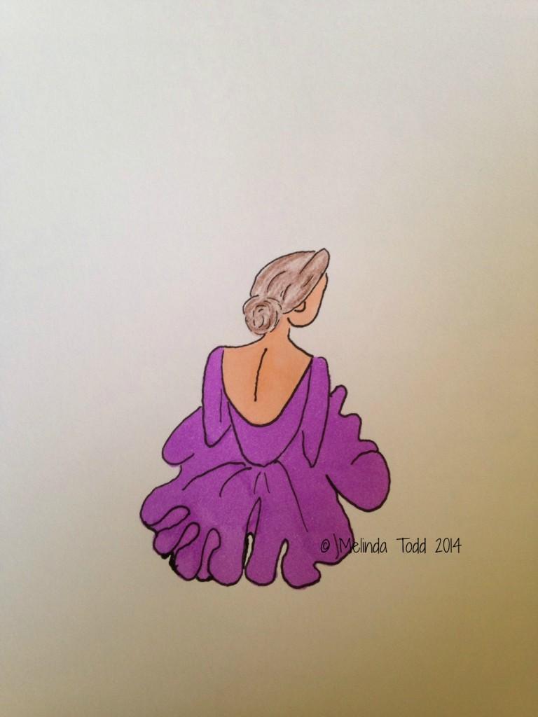 ballerina illustration by Melinda Todd