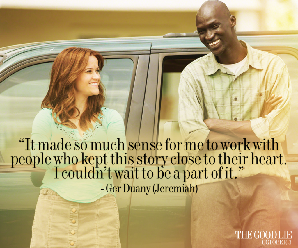 The good lie movie giveaway
