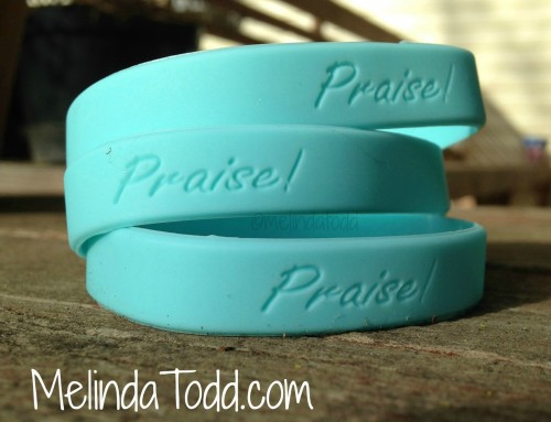 Praise Wristbands by Melinda Todd 2