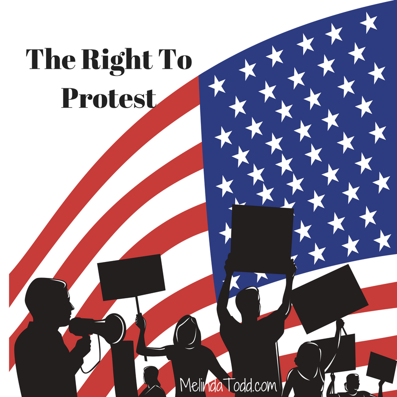 The Right To Protest A Word Of Caution