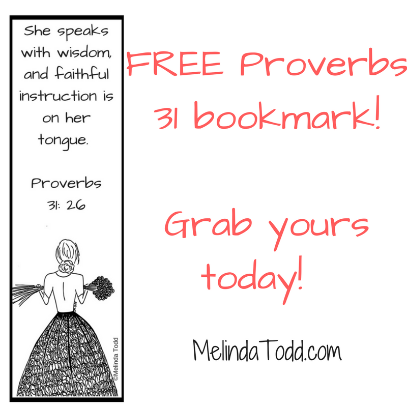 proverbs 31 coloring page - free proverbs 31 bookmark